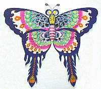 cerf-volant chinois  01  papillon  30,00$
